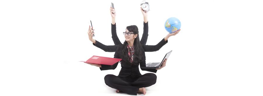 multitasken en rust in je hoofd